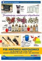Gazetka promocyjna PSB Mrówka - Z nami cieplej - Niepołomice