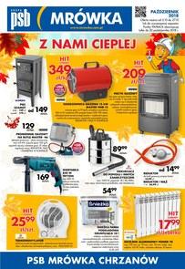 Gazetka promocyjna PSB Mrówka, ważna od 05.10.2018 do 27.10.2018.