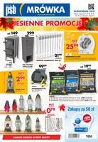 Gazetka promocyjna PSB Mrówka - Jesienne promocje - Nowy Targ