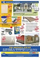 Gazetka promocyjna PSB Mrówka - Szeroki wybór zniczy! - Elbląg