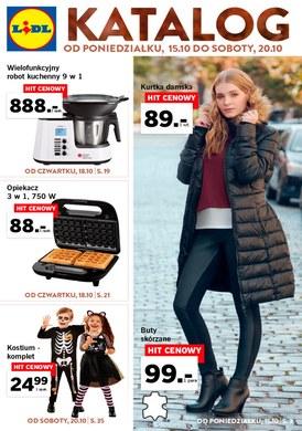Gazetka promocyjna Lidl - Katalog - ważna od 15-10-2018