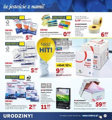 Gazetka promocyjna Makro Cash&Carry, ważna od 09.10.2018 do 22.10.2018.