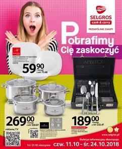 Gazetka promocyjna Selgros Cash&Carry, ważna od 11.10.2018 do 24.10.2018.