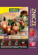 Gazetka promocyjna Makro Cash&Carry - Znicze i kompozycje kwiatowe  - ważna do 22-10-2018