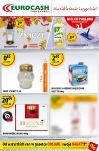 Gazetka promocyjna Eurocash Cash&Carry, ważna od 08.10.2018 do 21.10.2018.