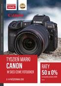 Gazetka promocyjna Fotojoker - Tydzień marki Canon - ważna do 14-10-2018