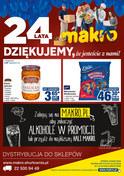 Gazetka promocyjna Makro Cash&Carry - 24 lata Makro - ważna do 22-10-2018
