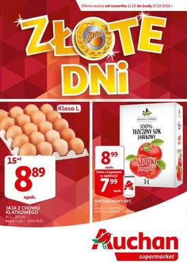 Gazetka promocyjna Auchan - Złote dni