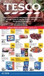 Gazetka promocyjna Tesco Hipermarket, ważna od 11.10.2018 do 17.10.2018.