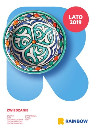 Gazetka promocyjna Rainbow Tours - Lato 2019 objazdy EUROPA