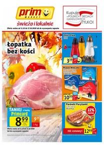 Gazetka promocyjna Prim Market, ważna od 11.10.2018 do 17.10.2018.