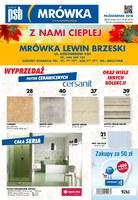 Gazetka promocyjna PSB Mrówka - Z nami cieplej - Lewin Brzeski