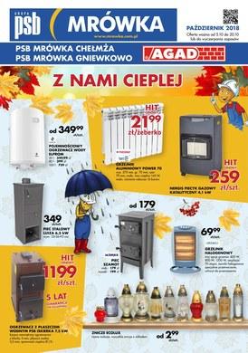 Gazetka promocyjna PSB Mrówka - Z nami cieplej - Chełmża, Gniewkowo