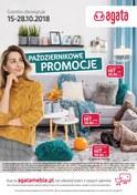 Gazetka promocyjna Agata  - Październikowe promocje  - ważna do 28-10-2018
