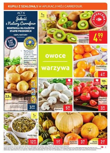 Gazetka promocyjna Carrefour Market, ważna od 16.10.2018 do 20.10.2018.