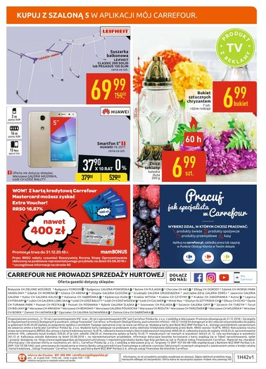 Gazetka promocyjna Carrefour, ważna od 16.10.2018 do 20.10.2018.