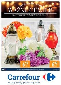 Gazetka promocyjna Carrefour, ważna od 16.10.2018 do 04.11.2018.