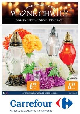 Gazetka promocyjna Carrefour - Ważne chwile  - ważna od 16-10-2018