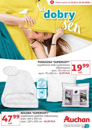 Gazetka promocyjna Auchan, ważna od 15.10.2018 do 22.10.2018.