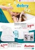 Gazetka promocyjna Auchan - Na dobry sen  - ważna do 22-10-2018