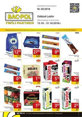 Gazetka promocyjna Bać-Pol S.A. - Oferta handlowa - Lublin