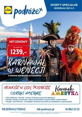 Gazetka promocyjna Lidl - Karnawał w Wenecji