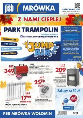 Gazetka promocyjna PSB Mrówka - Park trampolin - Wołomin