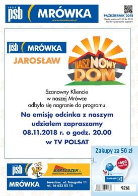 Gazetka promocyjna PSB Mrówka - Nasz nowy dom - Jarosław