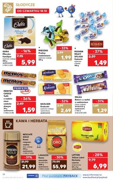 Gazetka promocyjna Kaufland, ważna od 18.10.2018 do 24.10.2018.