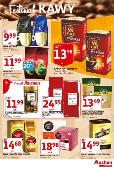 Gazetka promocyjna Auchan, ważna od 16.10.2018 do 31.10.2018.