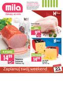Gazetka promocyjna MILA - Zaplanuj swój weekend - ważna do 23-10-2018