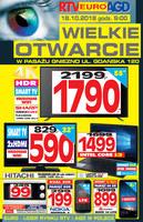 Gazetka promocyjna RTV EURO AGD - Wielkie otwarcie - Gniezno