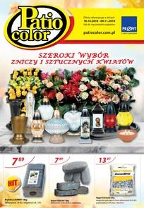 Gazetka promocyjna Patio Color, ważna od 18.10.2018 do 04.11.2018.