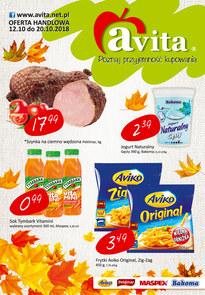 Gazetka promocyjna Avita, ważna od 12.10.2018 do 20.10.2018.