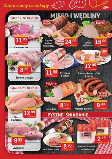 Gazetka promocyjna Gram Market, ważna od 17.10.2018 do 23.10.2018.