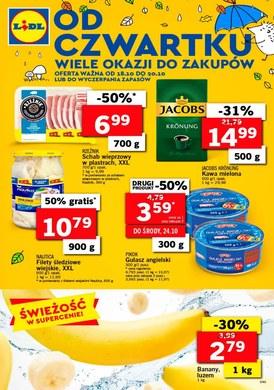 Gazetka promocyjna Lidl - Od czwartku  - ważna od 18-10-2018
