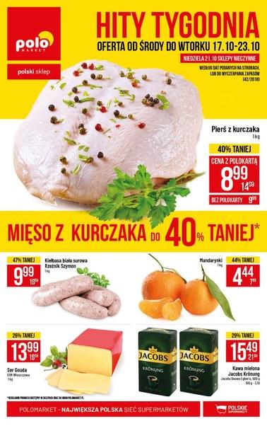 Gazetka promocyjna POLOmarket, ważna od 17.10.2018 do 23.10.2018.