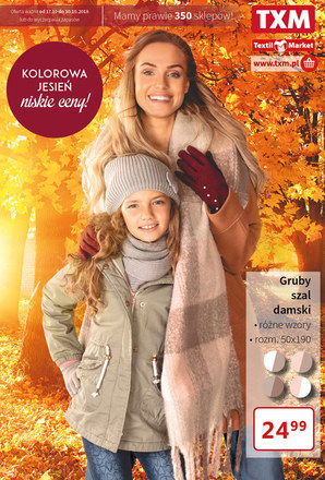 Gazetka promocyjna Textil Market, ważna od 16.10.2018 do 30.10.2018.