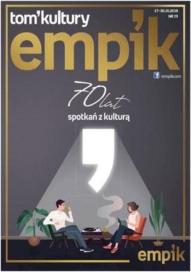 Gazetka promocyjna EMPiK - 70 lat spotkań z kulturą