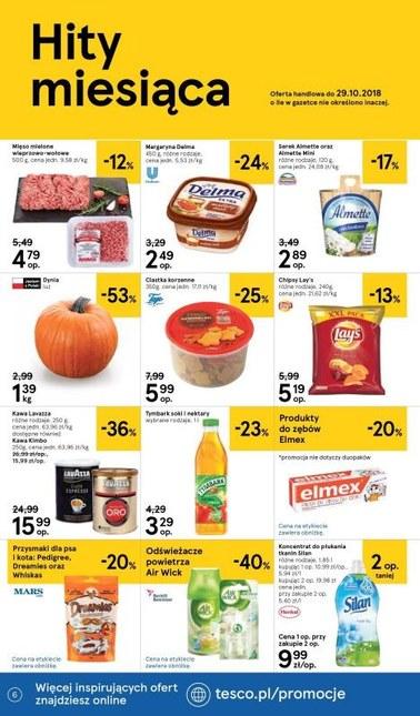 Gazetka promocyjna Tesco Supermarket, ważna od 18.10.2018 do 24.10.2018.