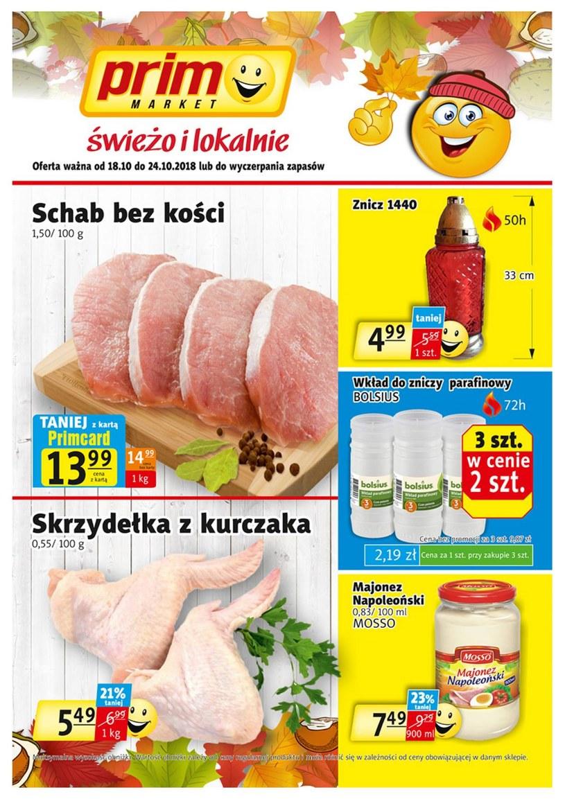 Prim Market: 1 gazetka