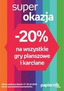Gazetka promocyjna Papiernik by Empik - Super okazja
