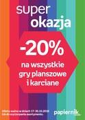 Gazetka promocyjna Papiernik by Empik - Super okazja  - ważna do 30-10-2018