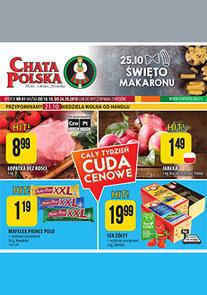 Gazetka promocyjna Chata Polska, ważna od 18.10.2018 do 24.10.2018.