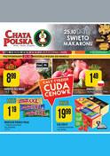 Gazetka promocyjna Chata Polska - Cały tydzień cuda cenowe - ważna do 24-10-2018