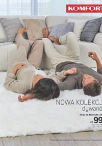 Gazetka promocyjna Komfort - Nowa kolekcja dywanów  - ważna do 19-12-2018