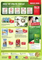 Gazetka promocyjna Maxi ZOO - Świętuj z nami i oszczędzaj