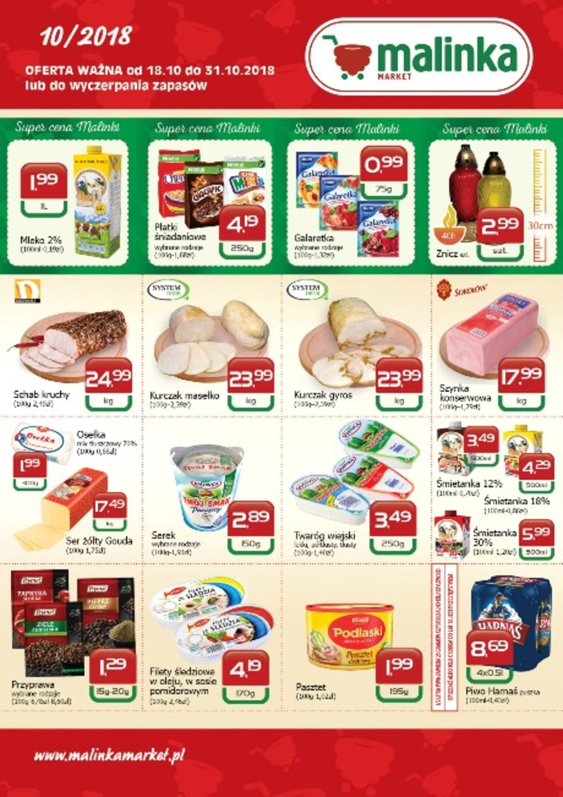 MALINKA Market: 1 gazetka