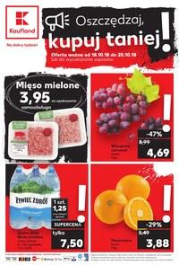 Gazetka promocyjna Kaufland, ważna od 18.10.2018 do 20.10.2018.