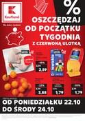 Gazetka promocyjna Kaufland - Oszczędzaj od początku tygodnia - ważna do 24-10-2018